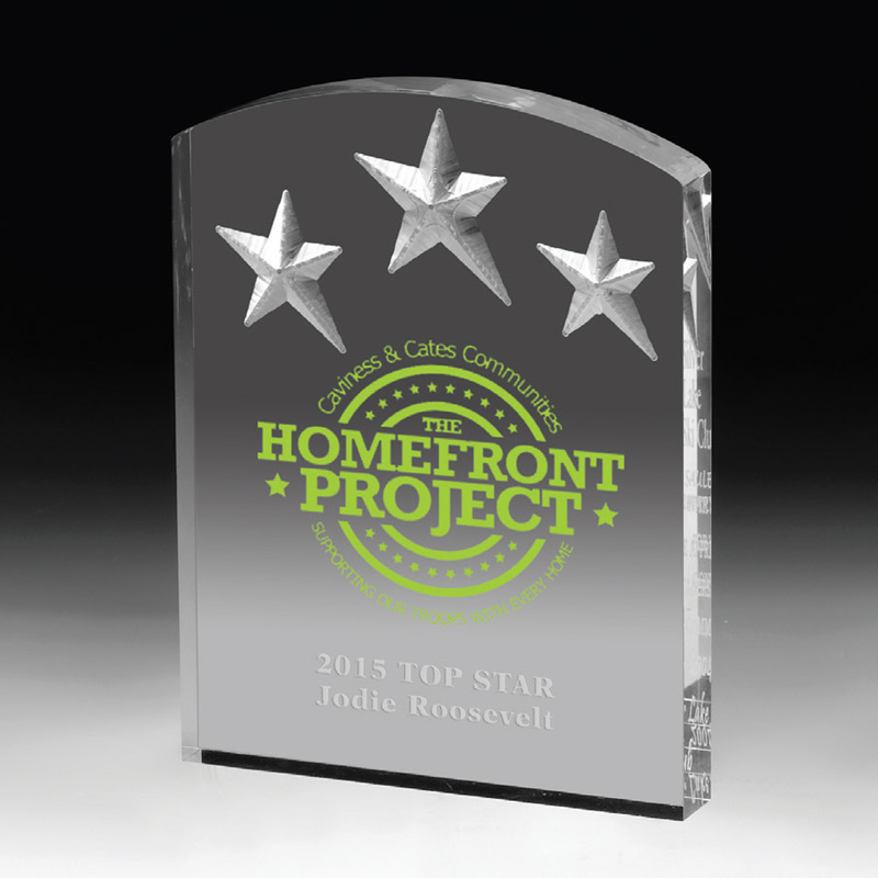 Freestanding Acrylic Awards (Laser)