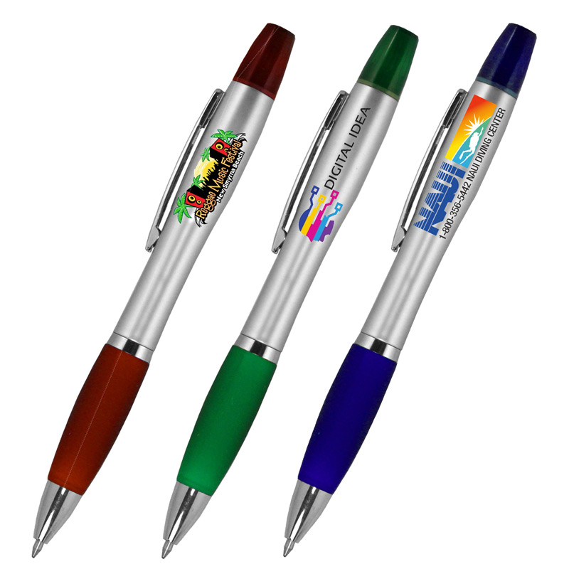 """Elite"" Pen and Highlighter Combo (PhotoImage® Full Color)"