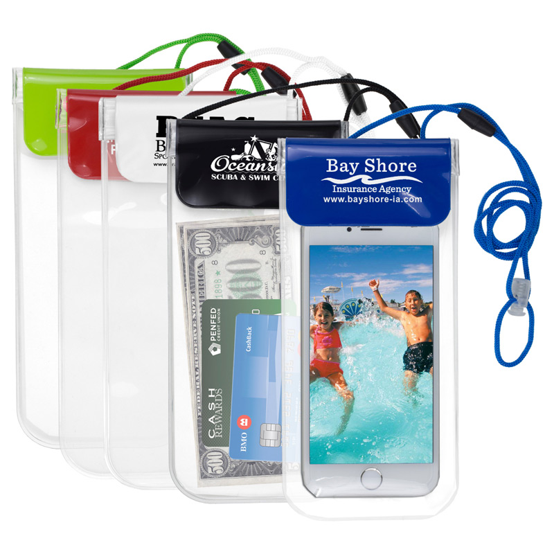 """Truckee"" All Purpose Waterproof Cell Phone and Accessories Carrying Case with 35"" Adjustable Breakaway Lanyard"