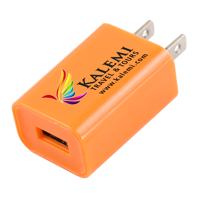 """Hamburg"" UL Listed USB Wall Charger & AC Adaptor (Photoimage Full Color)"