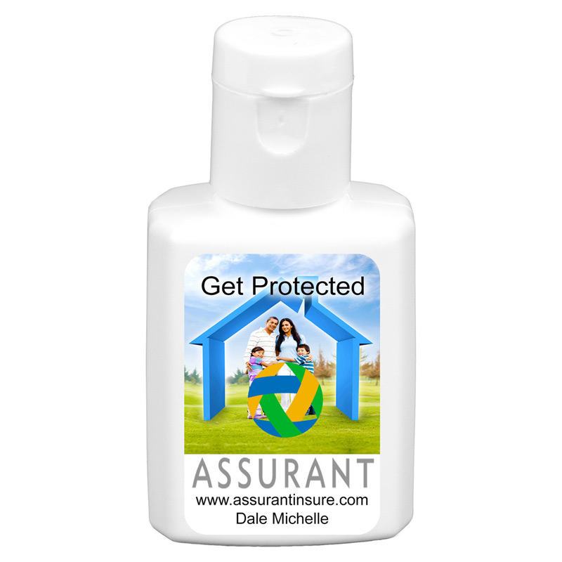0.5 oz Broad Spectrum SPF 30 Sunscreen Lotion In Solid White Flip-Top Squeeze Bottle