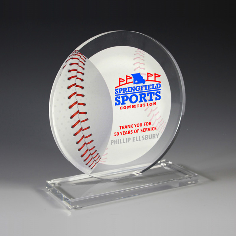 Baseball Achievement Award (Laser)