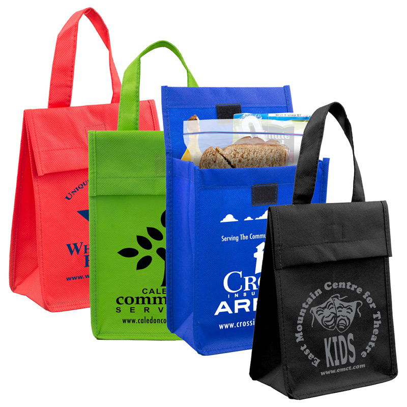 "6-1/2"" W x 9"" H - ""Bag-It"" Value Priced Lightweight Lunch Tote Bag"