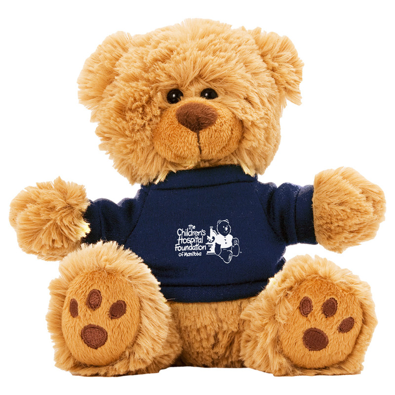 """˜Ted T. Bear' 6"" Plush Teddy Bear With Choice of T-Shirt Color"