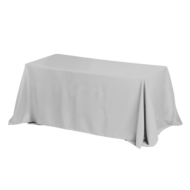 8' 4-Sided Throw Style Table Covers & Table Throws (PhotoImage Full Color)