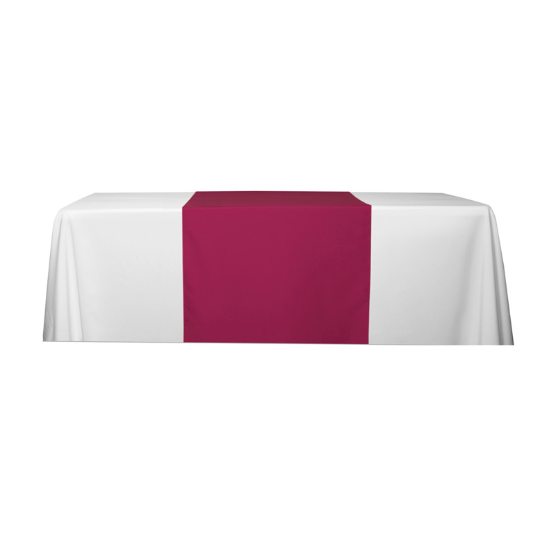 "6' OR 8' 90"" L Table Runners (Spot Color Print)"