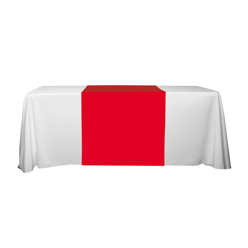 "6' OR 8' 90"" L Table Runners (PhotoImage Full Color)"