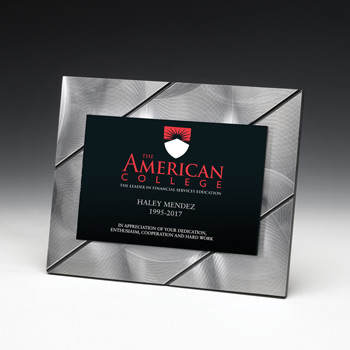 Striped Visionary Plaque (Laser)