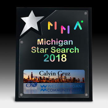 North Star Plaque (Screen)