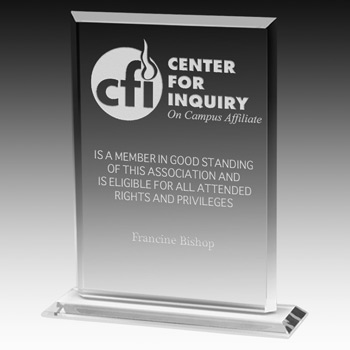 "Acrylic Billboard Award - 8 1/4"" (Laser)"