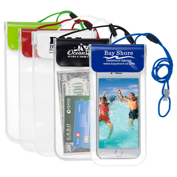 """Truckee""? All Purpose Waterproof Cell Phone and Accessories Carrying Case with 35""? Adjustable Breakaway Lanyard"