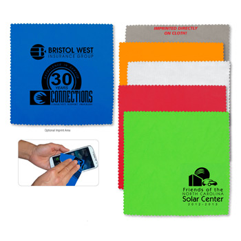 "100% Microfiber Cleaning Cloth & Screen Cleaner 8""?x 8""?"