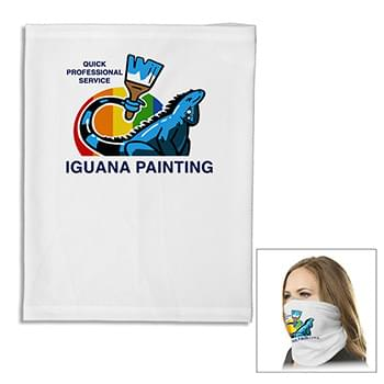 """The Husky Fandana™ Gaiter"" Full Color Sublimation Extra Thick 170 Gsm Fandana ™ Gaiter Facemask For More Pr"