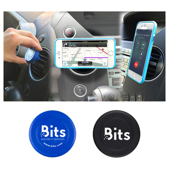 """Bise""? Automotive Magnetic Cell Phone Docking Station"
