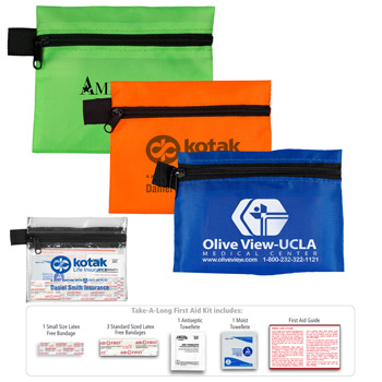 """Take-A-Long Kit 1"" 7 Piece First Aid Kit"
