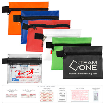 """On The Go Kit 2"" 14 Piece First Aid Kit"