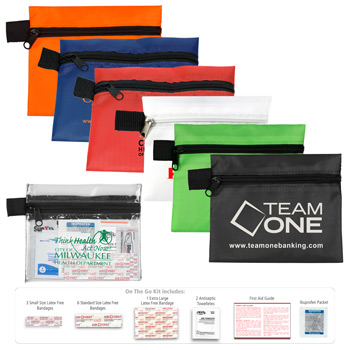 """On The Go Kit 3"" 15 Piece First Aid Kit"