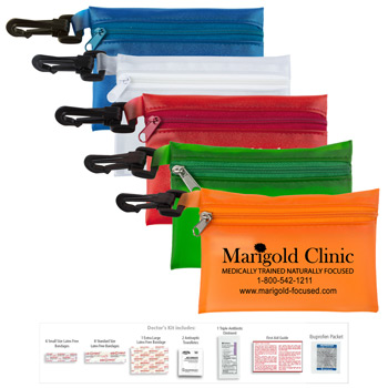 """Doctor's Kit 2"" 20 Piece First Aid Kit"