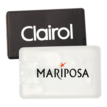 Pocket Mints in Credit Card Size Dispensers