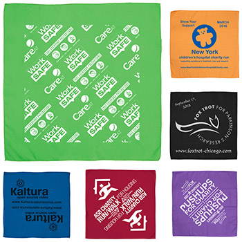 The Bandana Silkscreen Headband and Neck Wear - Domestic Production
