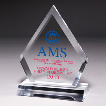 "Multi-Faceted Acrylic Award - 53/4"" x 7 1/2"" (Screen)"