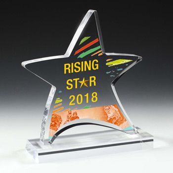 Moving Star Award (Full Color)