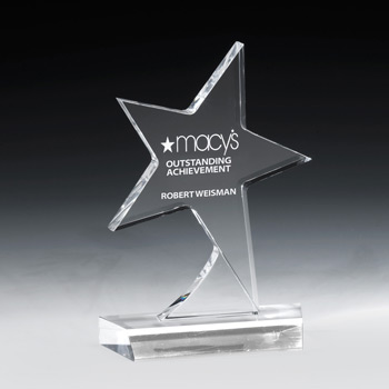Standing Star Award (Full Color)