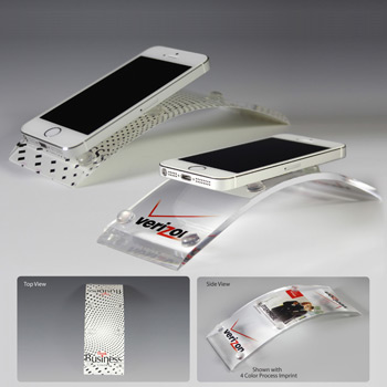 Award Quality Acrylic Cell Phone Holders (Full Color)