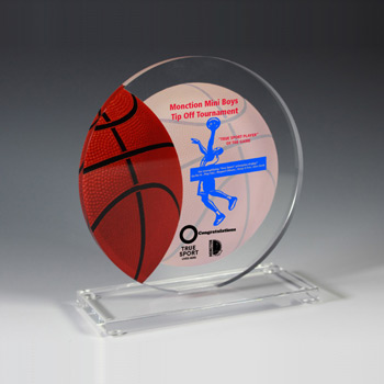 Basketball Achievement Award (Laser)