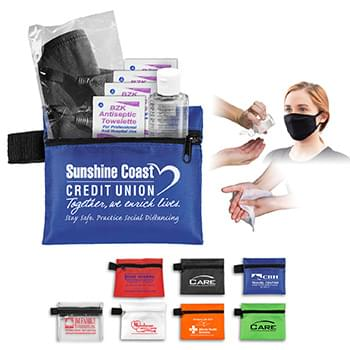 Wellness Quick Kit - Protection On-The-Go In Zipper Pouch
