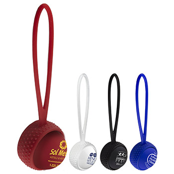 """Camilla Soft"" Soft Touch Vanilla Scented Lip Moisturizer Ball with Leash Strap"